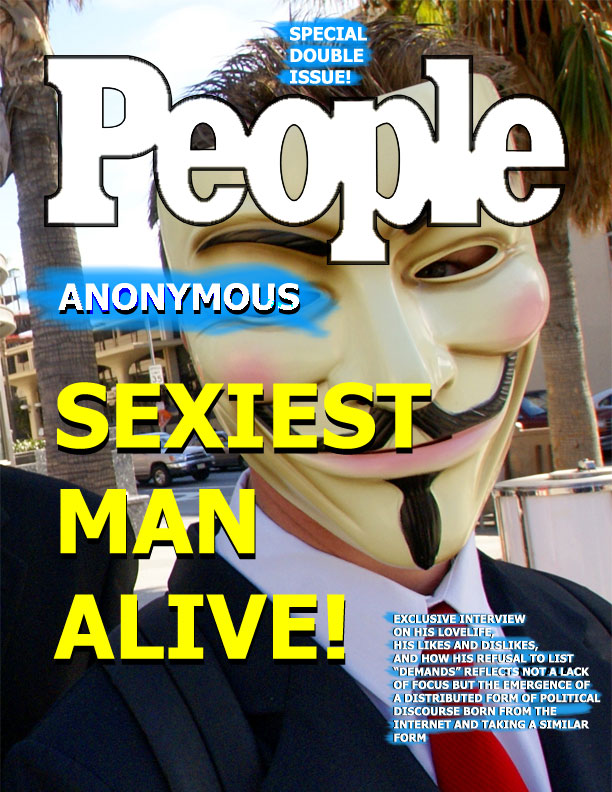 People Magazine - Anonymous - Sexiest Man Alive!