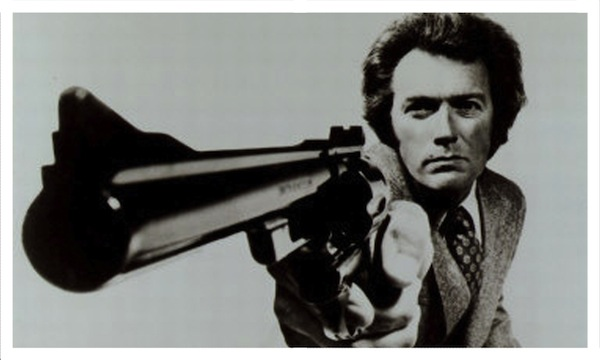 Dirty Harry shooting .357 Magnum