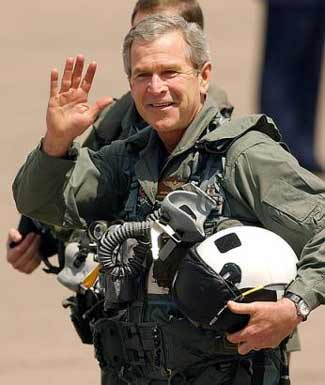 George Bush in Flight Suit