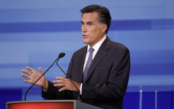 Mitt Romney Debating