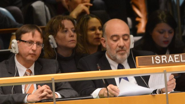 Israeli delegation at the U.N.
