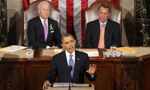 "Boehner Looks On Disapprovingly as Obama Wastes ""Good Drinking Time"""